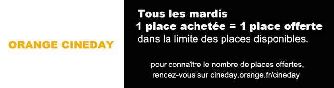 place ciné orange